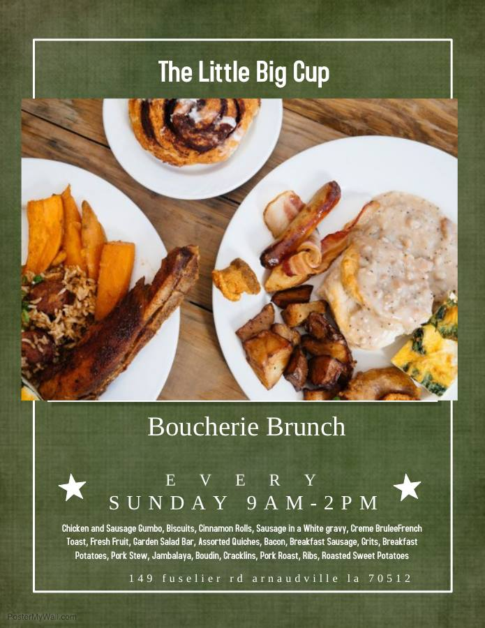 Boucherie Brunch The Little Big Cup
